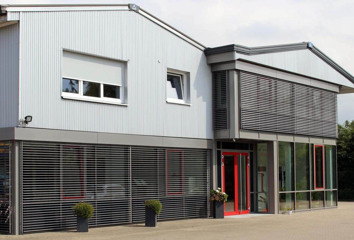 Ansicht - Erweiterung Bürogebäude in  im Jahr 2015