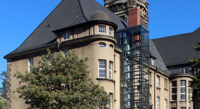 Neubau Aufzug am Rathaus